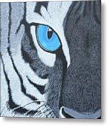 The Eye Of The Tiger Metal Print