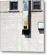 The Eyes Are The Windows To This Building Metal Print