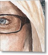 The Eyes Have It - Dustie Metal Print
