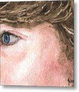 The Eyes Have It - Franci Metal Print