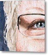 The Eyes Have It - Vickie Metal Print