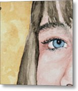 The Eyes Have It - Bryanna Metal Print