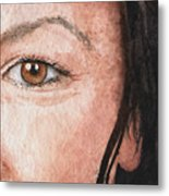 The Eyes Have It- Jessica Metal Print
