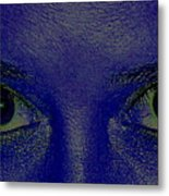 The Eys Have It-abstract Metal Print