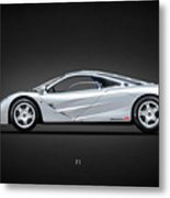 The F1 Supercar Metal Print