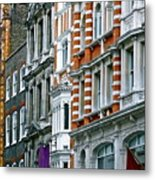 The Face Of London Metal Print