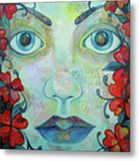 The Face Of Persephone I Metal Print