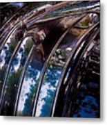 The Face Of Pontiac Metal Print