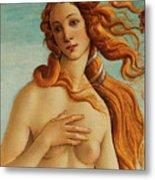 The Face Of Venus Metal Print