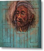 The Face Of Wisdom Metal Print