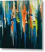 The Faces Metal Print