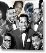 The Faces Of Motown Metal Print