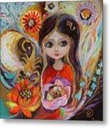The Fairies Of Zodiac Series - Scorpio Metal Print