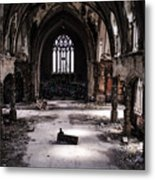 The Faithful Congregant Metal Print