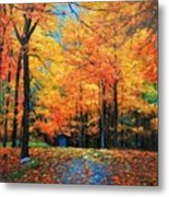 The Fall At Best Metal Print