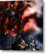 The Fall Of Azturath Metal Print