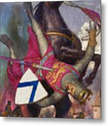 The Fall Of William The Conqueror Metal Print