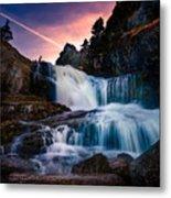 The Falls At Flatrock Metal Print
