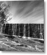 The Falls At Yates Mill II Metal Print