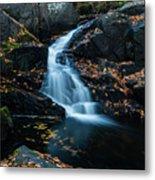 The Falls Of Black Creek In Autumn II Metal Print