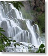 The Falls Of Fall Creek Metal Print