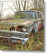 The Family Ford Metal Print