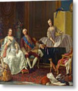 The Family Of Philip Of Parma  Metal Print