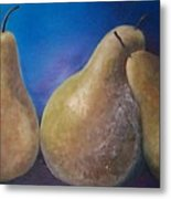 The Famous Pears Metal Print