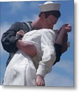 The Famous Ww2 Statue In San Diego  Metal Print