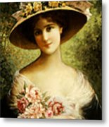 The Fancy Bonnet Metal Print