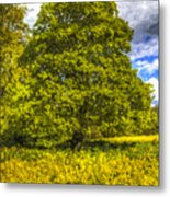 The Farm Tree Art Metal Print