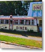 The Farmers Diner Metal Print