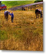 The Farmers Friend Metal Print