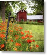 The Farmhouse Metal Print