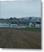 The Farmland Has Been Tilled Metal Print
