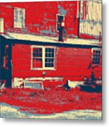 The Feed Store Metal Print