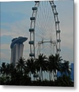 The Ferris Wheel 3 Metal Print