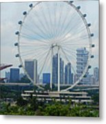 The Ferris Wheel 6 Metal Print
