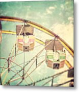 The Ferris Wheel Metal Print