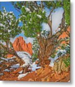 The Ferruginous Earth Of The Rocky Mountain West Metal Print