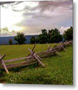 The Field Of Lost Shoes Metal Print