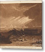 The Fifth Plague Of Egypt Metal Print