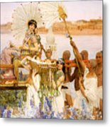 The Finding Of Moses Metal Print