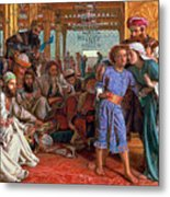 The Finding Of The Savior In The Temple Metal Print