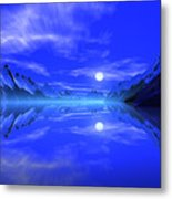 The Fiords of Thor. Metal Print
