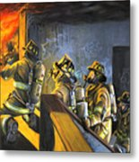The Fire Floor Metal Print