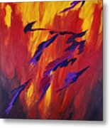 The Fire Of Life Metal Print