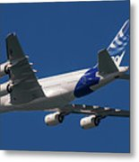 The First Airbus A380. Metal Print