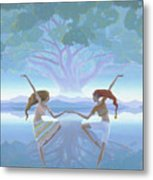 The First Dance Metal Print