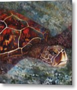 The First Honu Metal Print